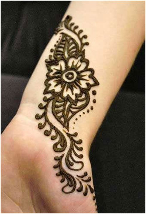 Easy Wrist Henna: 32 Simple And Easy Mehndi Designs For Beginners Step By Step