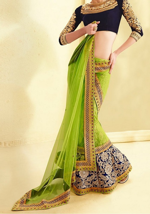 sabyasachi inspired lehenga saree blouse