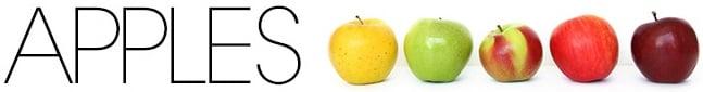 Apple raw food