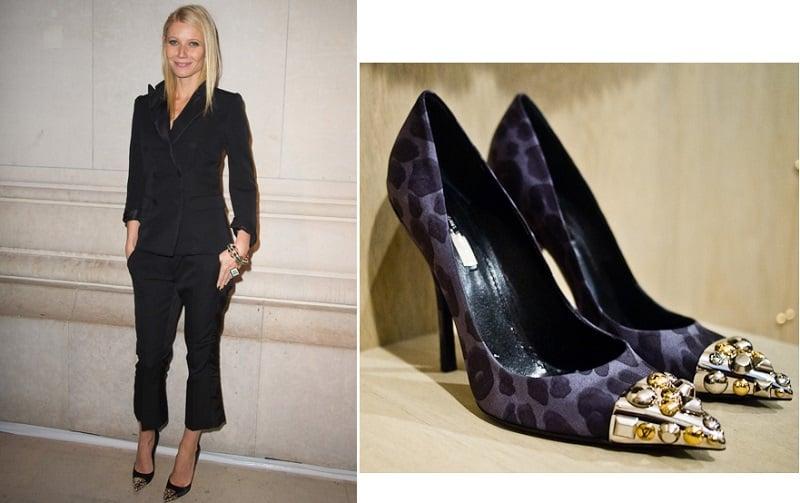 Gweneth Louis Vuitton toe cap pump