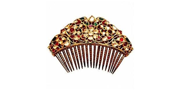 Jeweled Hair Comb