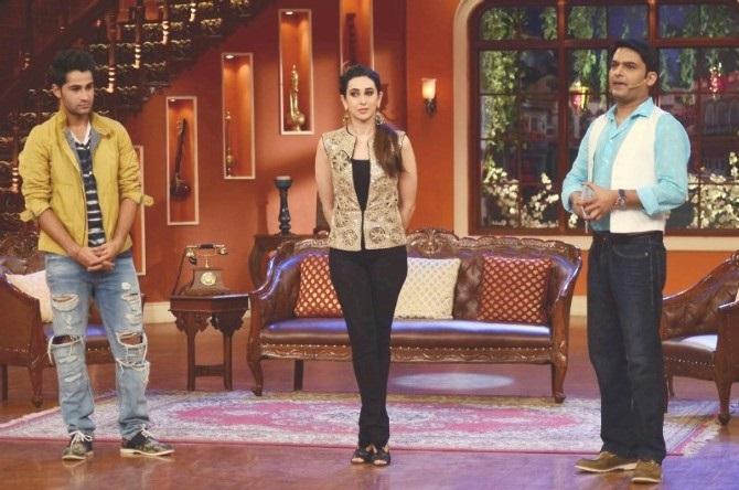 Karisma Armaan Comedy Nights With Kapil promoting Lekar Hum Deewana Dil