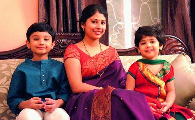 Smita Sabharwal Family Photos