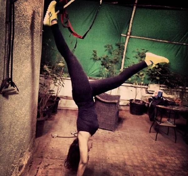 Sonakshi Sinha workout pics