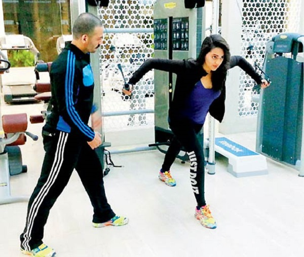 Sonakshi Sinha new trainer
