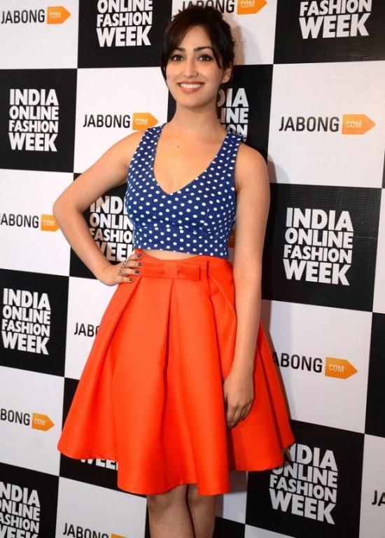yami gautam jabong india online fashion week