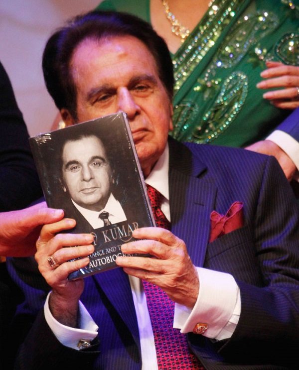 dilip kumar book launch