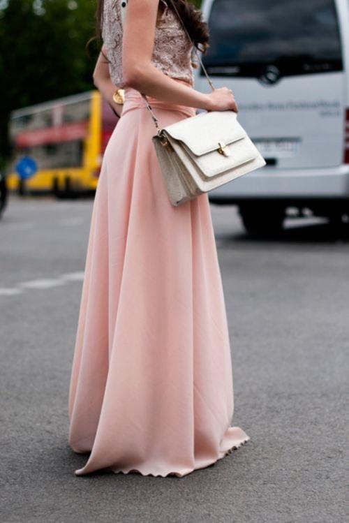 flowy skirts college fashion