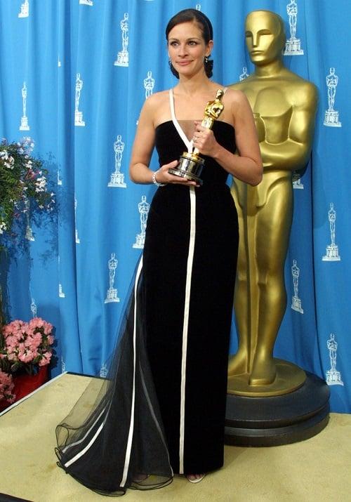 Julia Roberts Vintage Oscar Dress