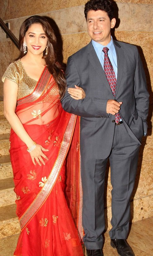 madhuri dixit book launch