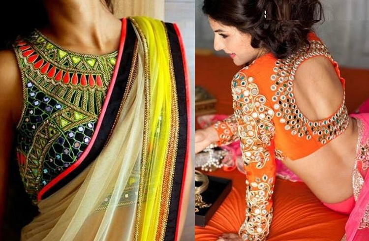 Latest top trending designer blouse back neck designs for saree Latest top trending designer blouse back neck designs for saree new photo