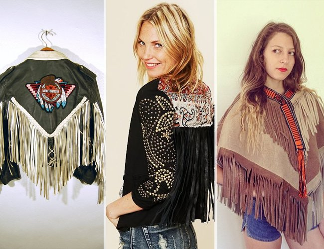 70s Inspired Fringe Leather Jackets