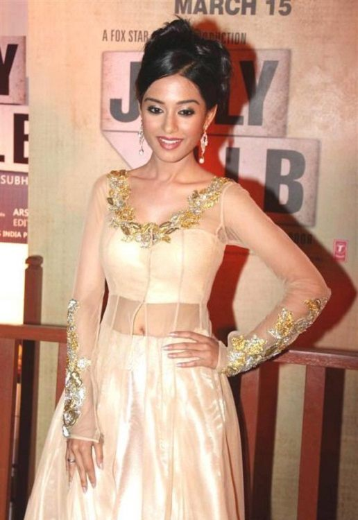 Amrita Rao in sheer blouse design