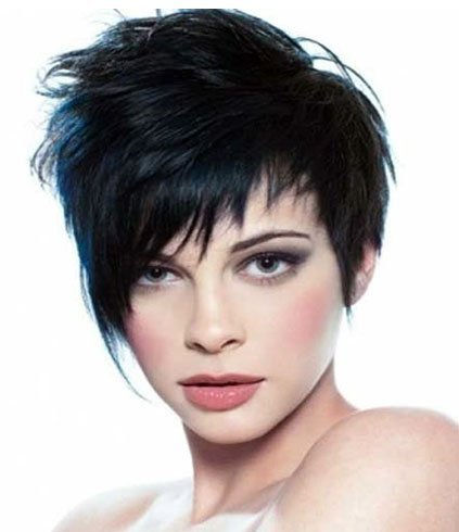 Fringed Feather Cut Hair Style