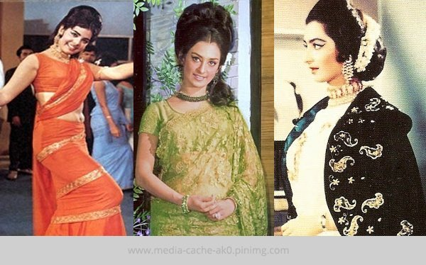 1960s Bollywood Fashion
