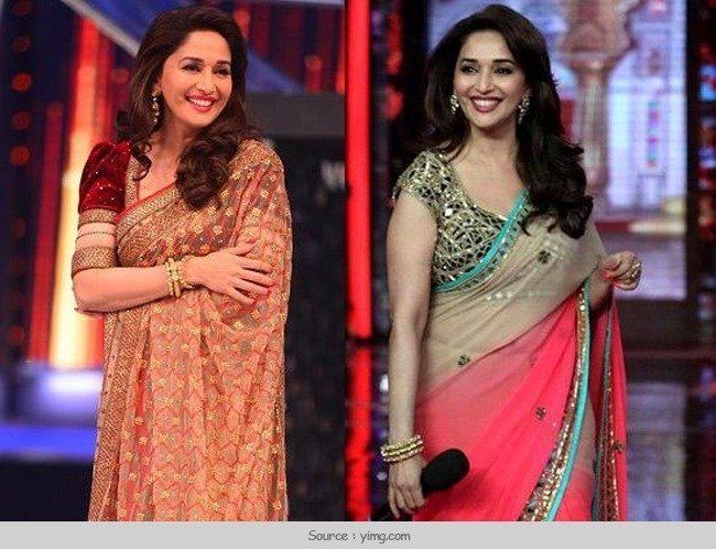 Best Saree Looks of Madhuri Dixit