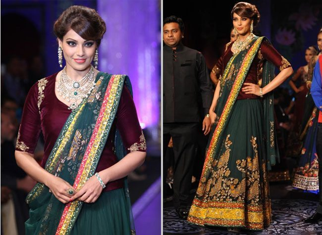 Bipasha Basu PC Jewellers IIJW 2014