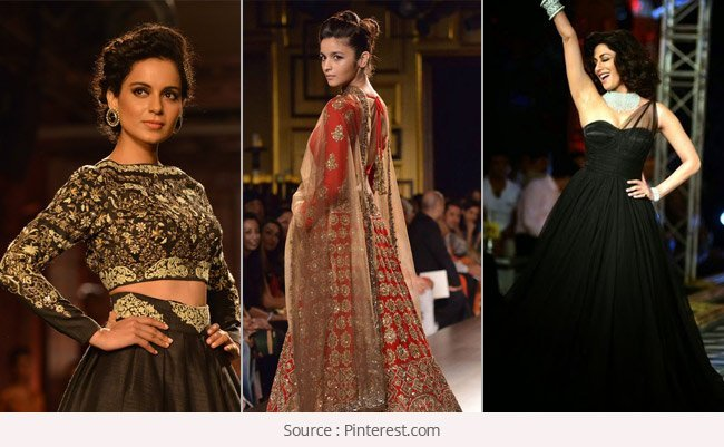 Bollywood Celebrities at India Couture  Week 2014