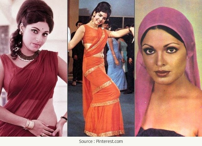 Bollywood Fashionistas of 70s