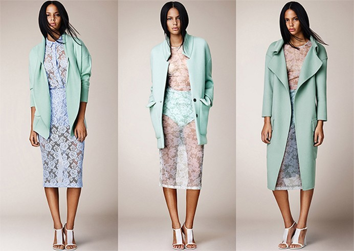 Burberry Lace Fashion Trend