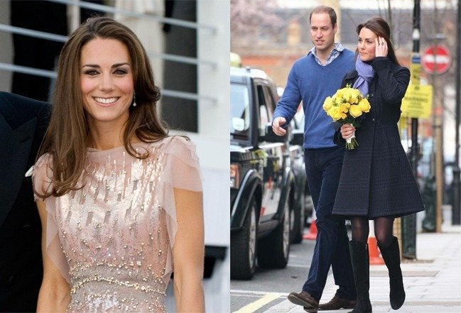 Catherine and kate Middleton