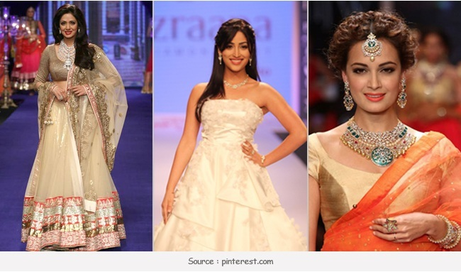 Celebrities as Showstoppers at IIJW 2014