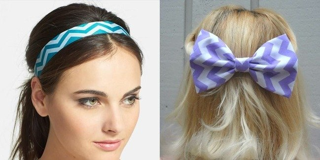 Chevron Hair Accessories