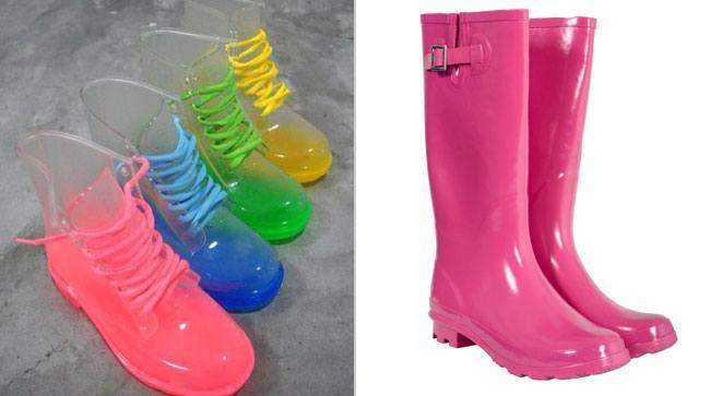 Colorful Gumboots Waterproof Footwear for Monsoon