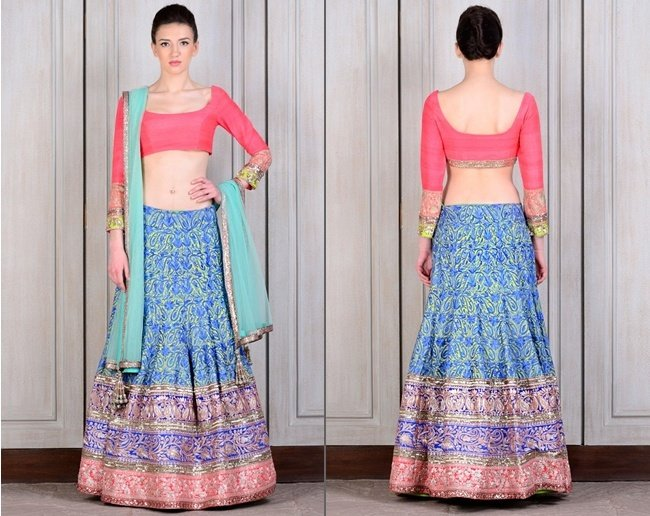 Colourful Lehengas by Manish Malhotra for Bridesmaids