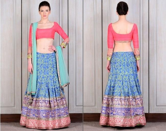 Colourful Lehengas by Manish Malhotra for Bridesmaids