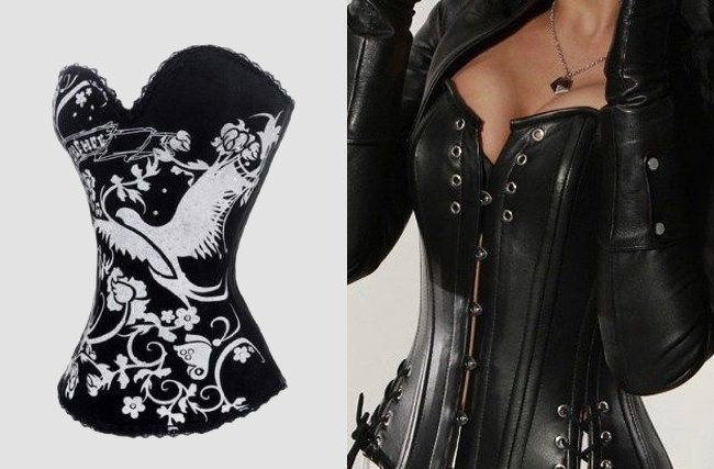 Corsets or Bustier
