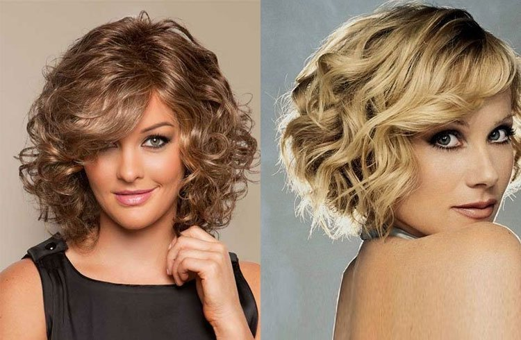 Curly Feather Hairstyle