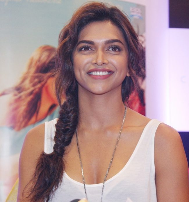 Deepika Padukone Braided Beauty Hairstyle