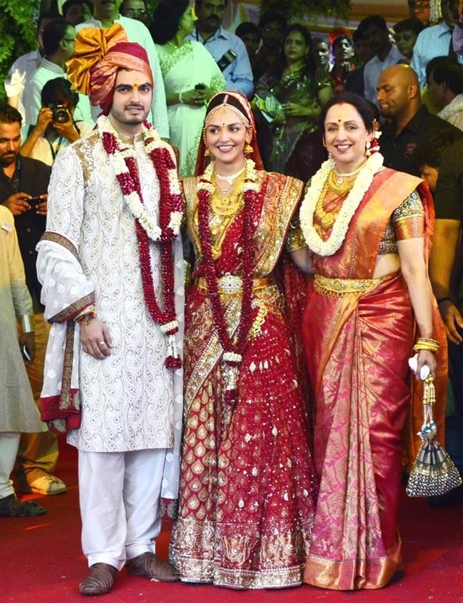 Esha Deol Kanjeevaram Saree