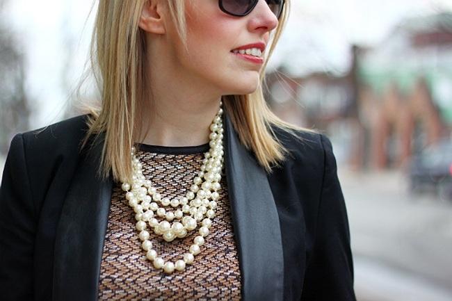 Trending Now: Classy Pearl Jewelry