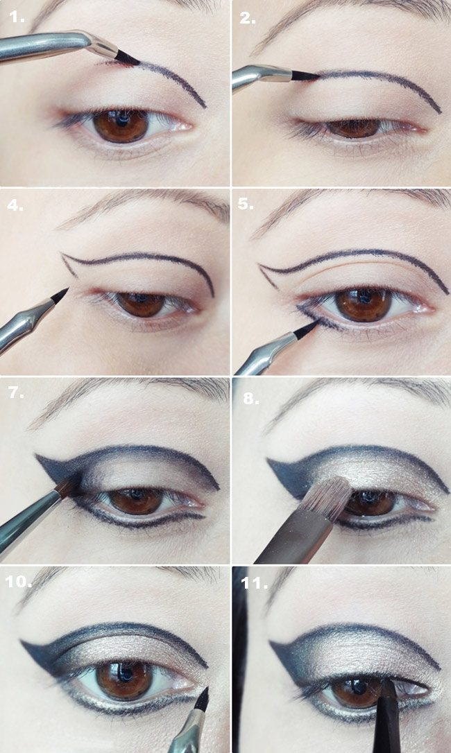 How to apply by Colleen Runne for smokey eye look