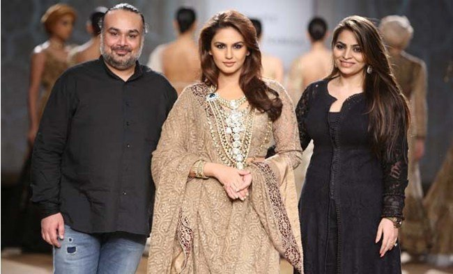 Huma Qureshi at India Couture Week 2014