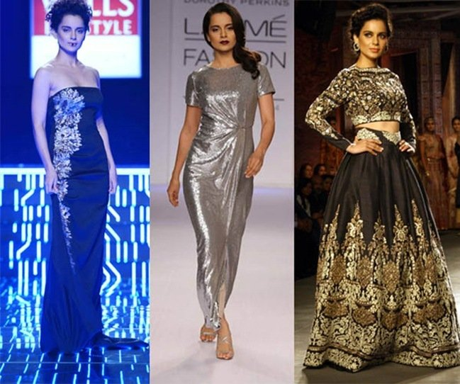 Kangana Ranaut Scorching the Ramp