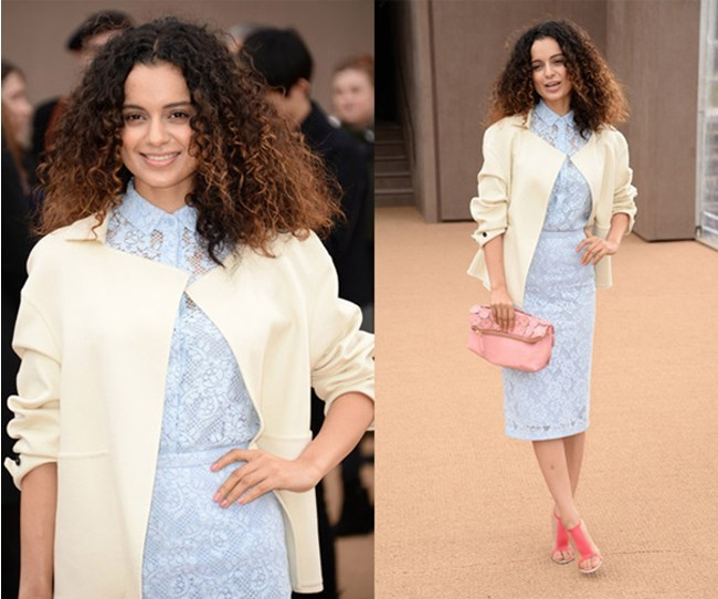 Kangana Ranaut in London Fashion Week