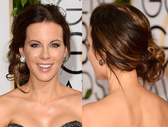 Kate Beckinsale's undone