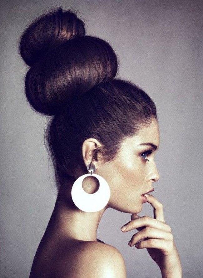 Loop Chic Bun Hairstyles