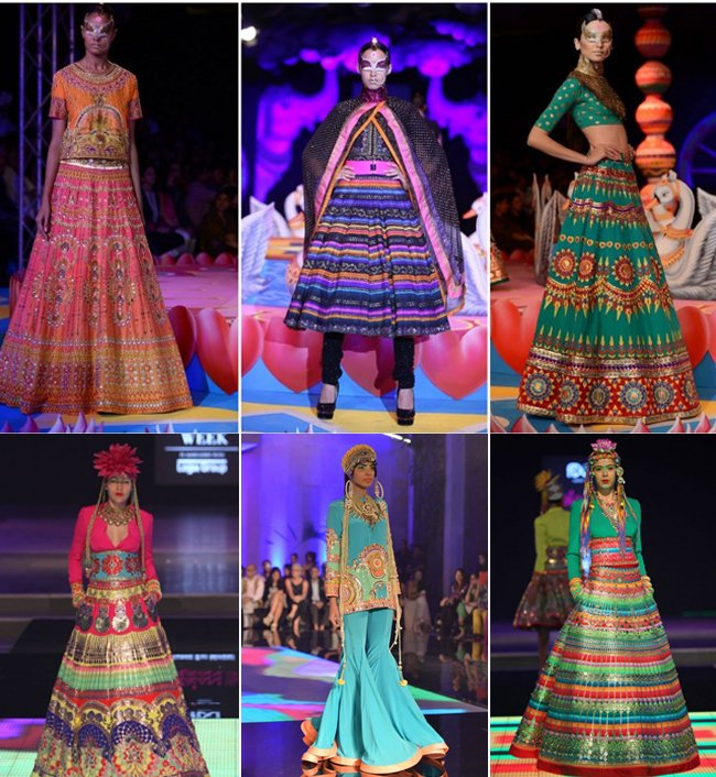 Manish Arora Models India Couture Week 2014
