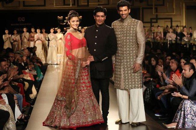 Manish Malhotra Alia India Couture Week 2014