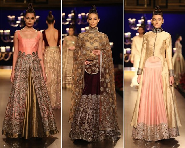 Manish Malhotra Bridal Collection India Couture Week 2014