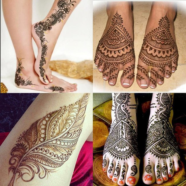 Mehndi Designs For the Feet Eid
