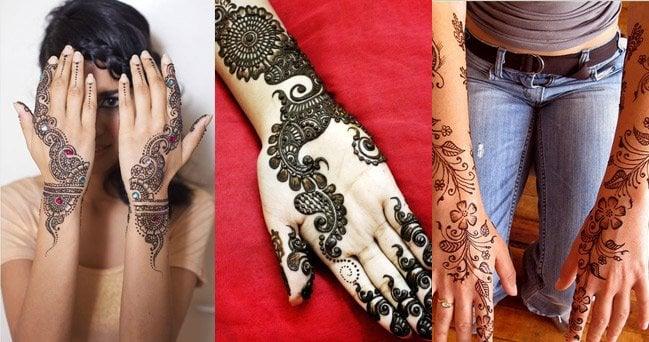 Mehndi Designs for Hands Eid