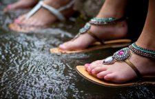 Monsoon Fashion: Stylish Waterproof Footwear