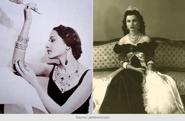 Most Stylish Beautiful Royal Ladies in Indian History