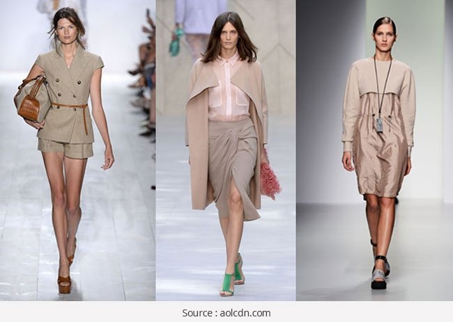 Nudes and Neutrals new Fashion Trend