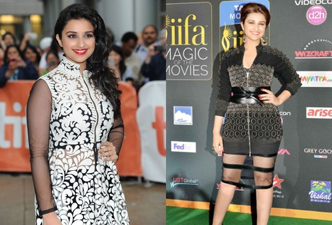 Parineeti Chopra Outfits in IIFA-2014